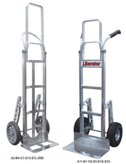 BP Mfg Liberator Hand Trucks Heavy Duty Aluminum