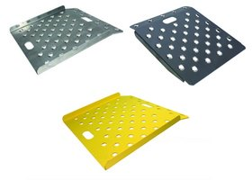 BP Mfg Aluminum Safety-Punched Curb Ramps