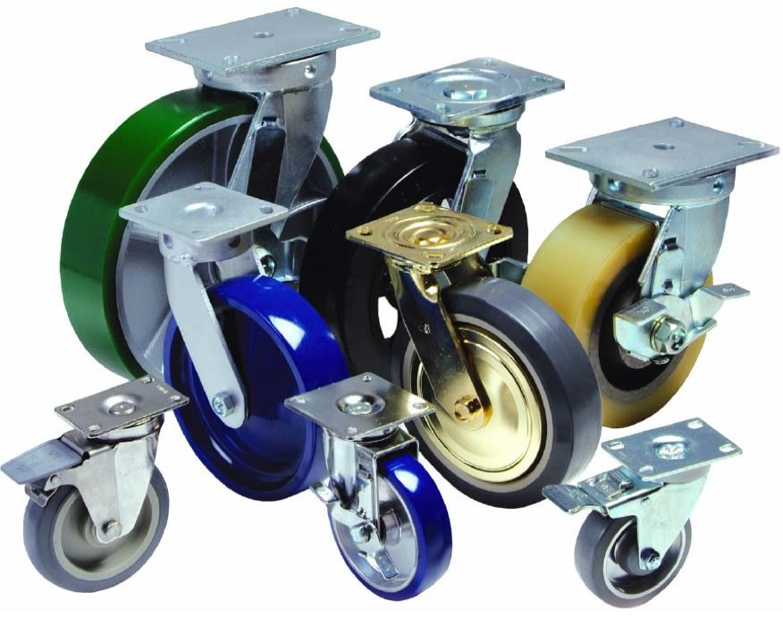 Plate Casters - Selection of Industry-Standard Plate Casters