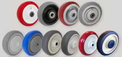 Caster Wheel selection - Polyurethane-PolyPro-TPR-Rubber